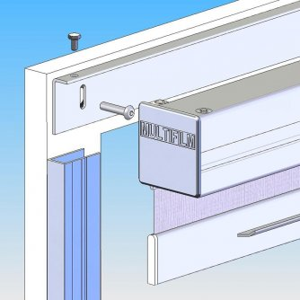 Classic-Line screw-fitting on or into the frame