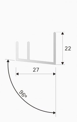 Side guides DF1 for Velux roof windows