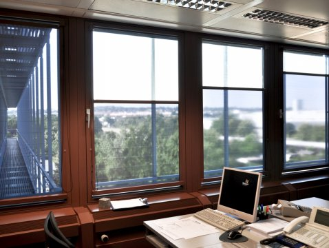 Roller blind with closing direction from bottom to the top Multifilm Lux-Line