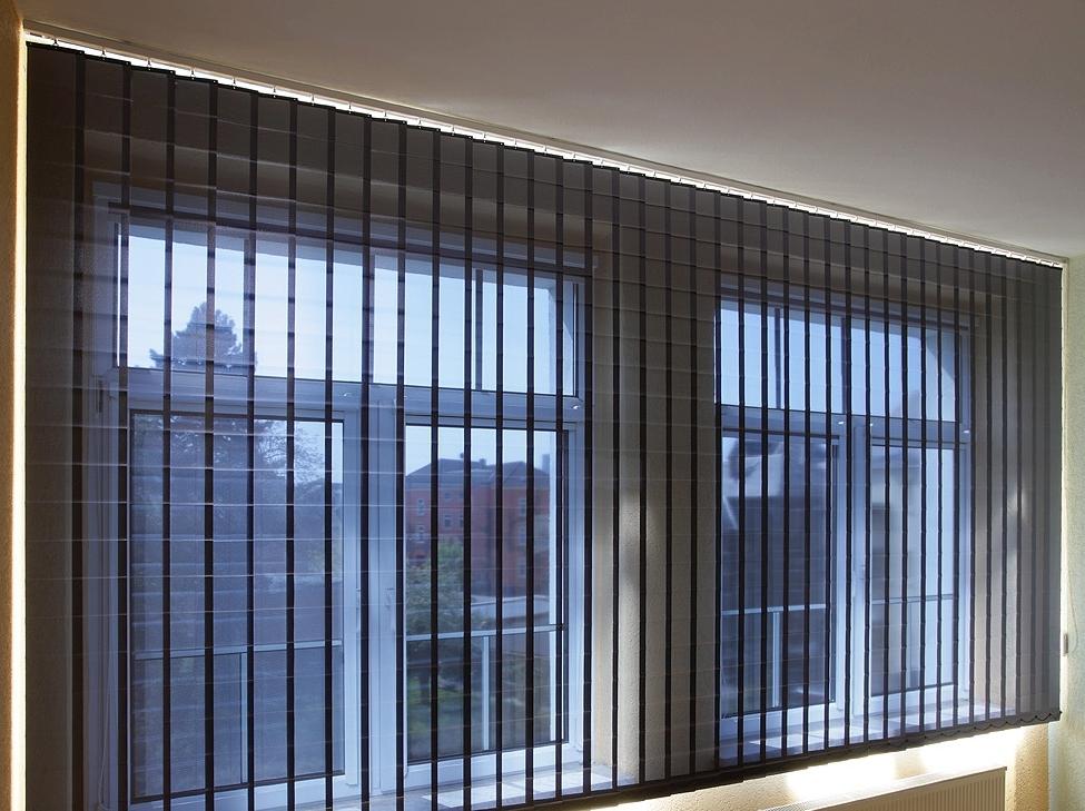 lamellenvorhang f r industrie und b ro von. Black Bedroom Furniture Sets. Home Design Ideas